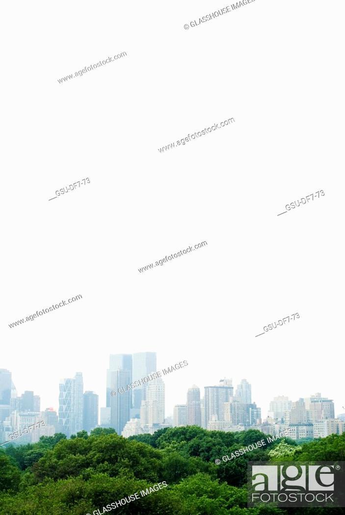 Stock Photo: New York City, skyline.