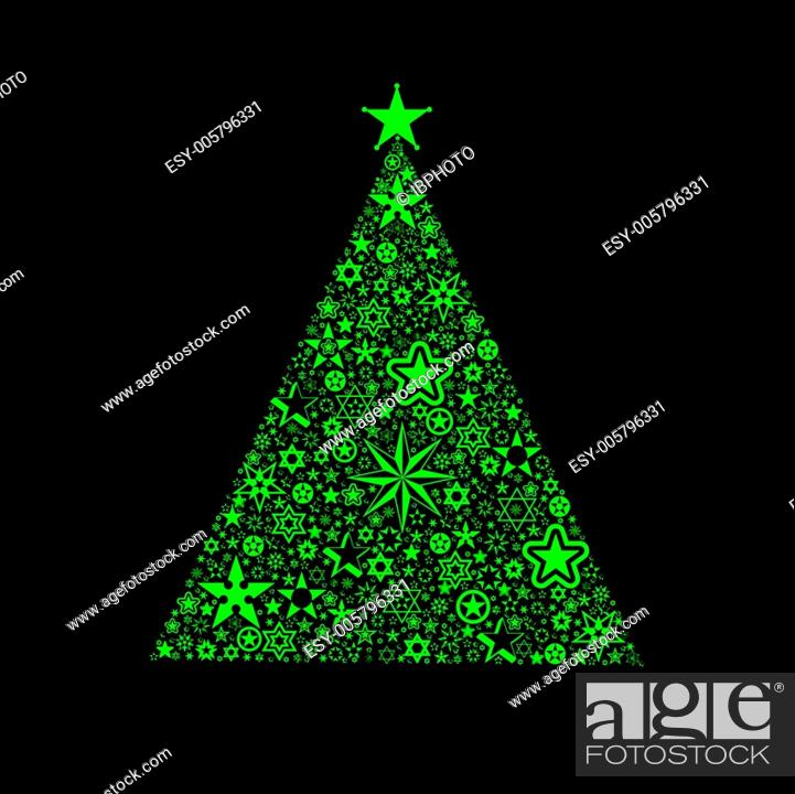 Stock Vector: Christmas decoration.