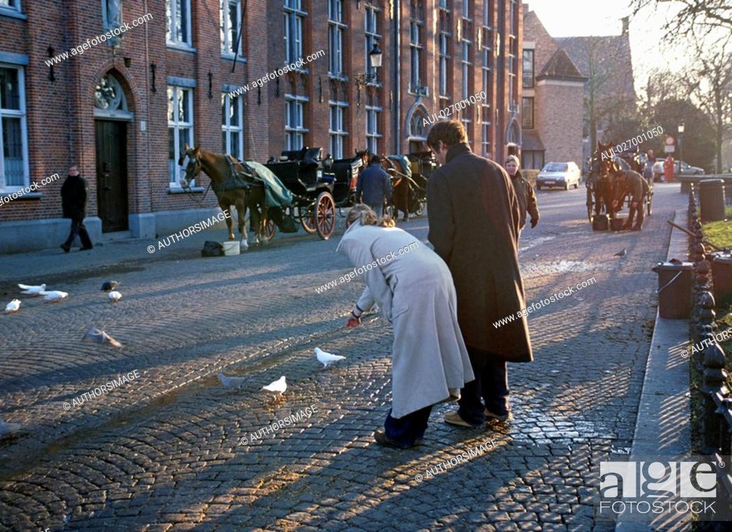 Stock Photo: Belgium - Flanders - Bruges.