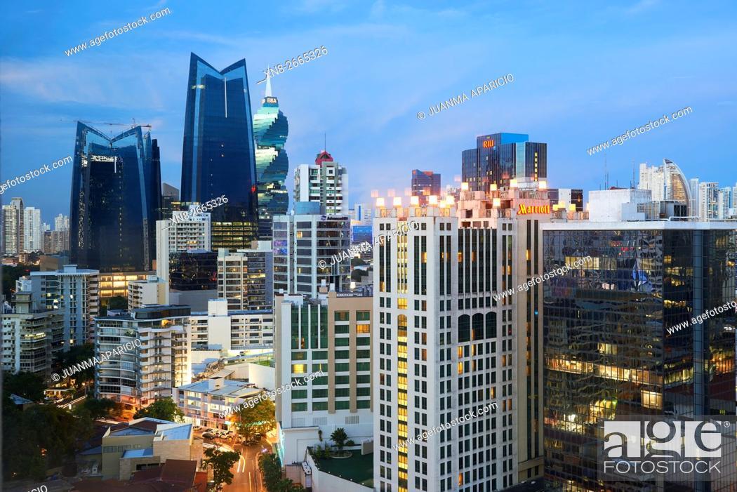 Imagen: Panama City, Republic of Panama, Central America.