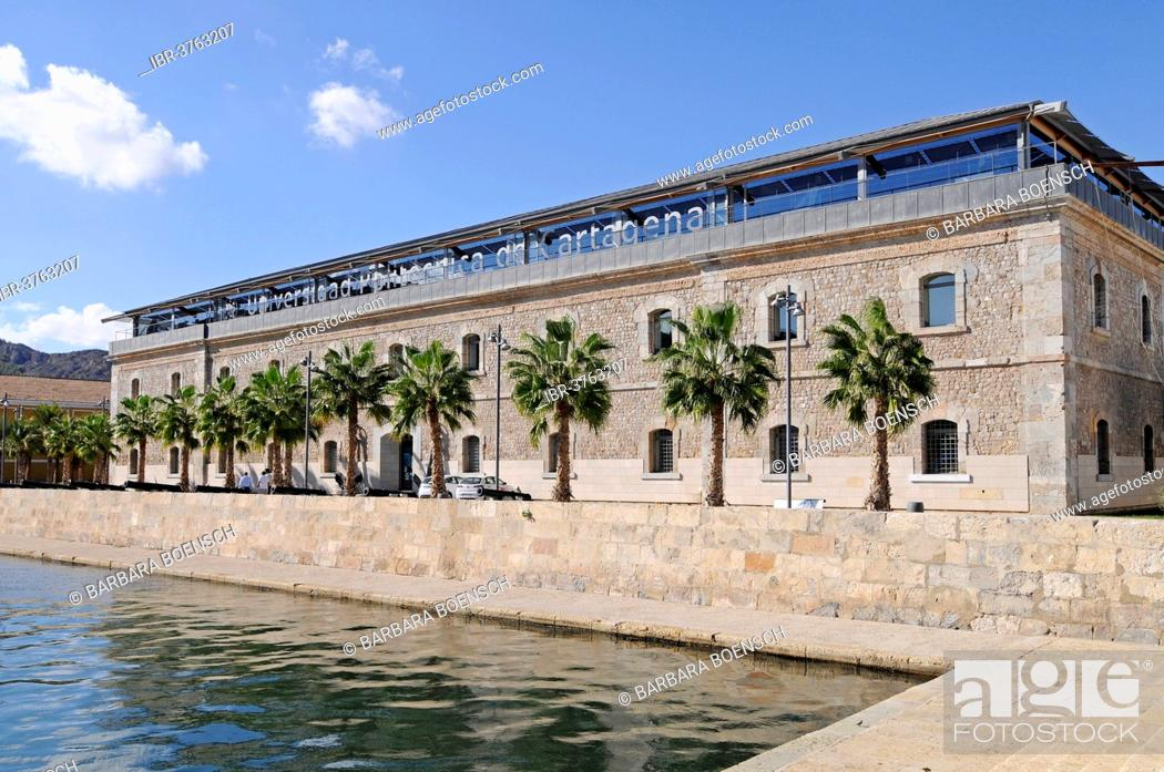 Stock Photo: Polytechnic University, Museo Naval, Marine Museum, Cartagena, Murcia Region, Spain.