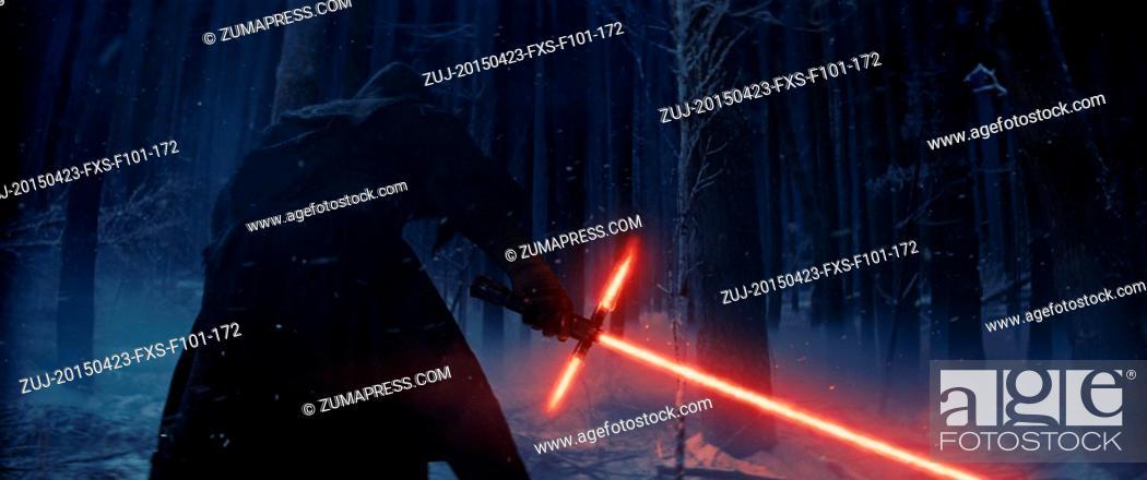 Stock Photo: April 23, 2015 - Hollywood, USA - STAR WARS: EPISODE VII - THE FORCE AWAKENS (2015).J.J. ABRAMS (DIR).