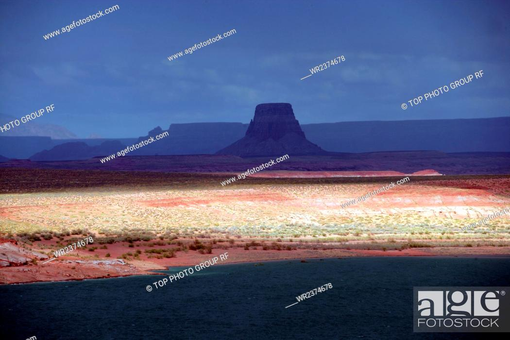 Stock Photo: The United States Peggy Lake Powell.