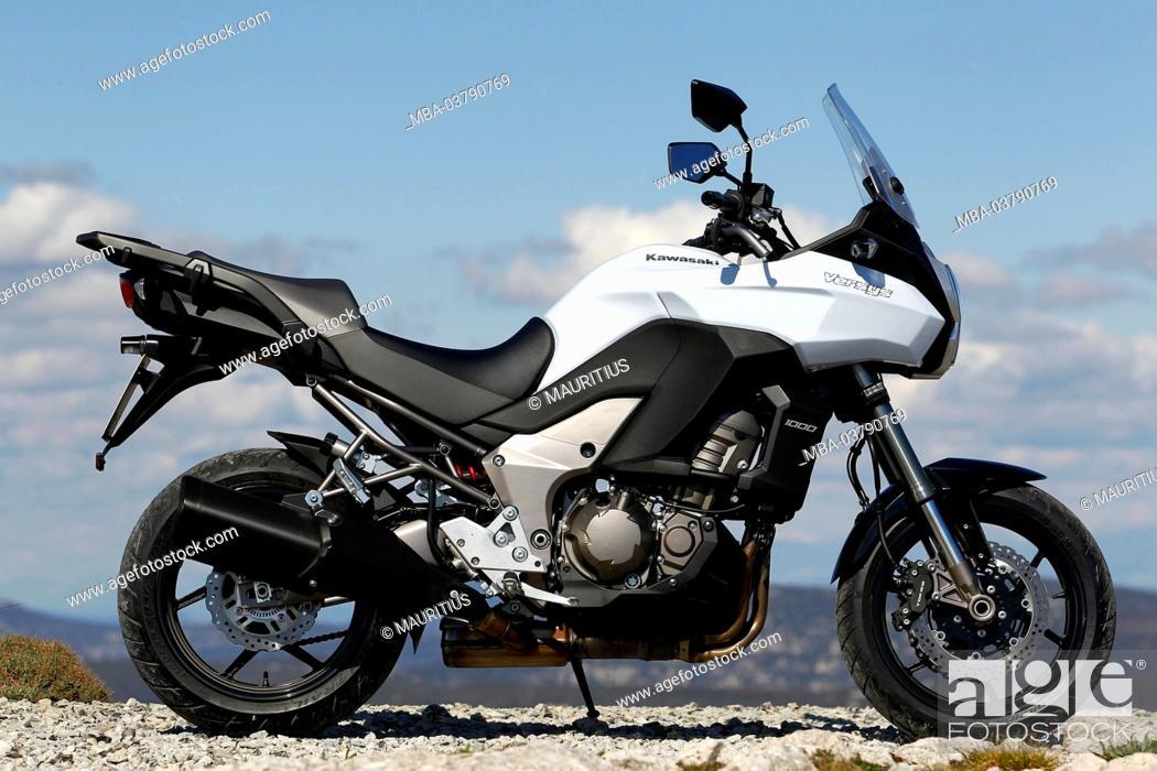 Motorcycle Travel Enduro Kawasaki Versys In 1000 Year Of