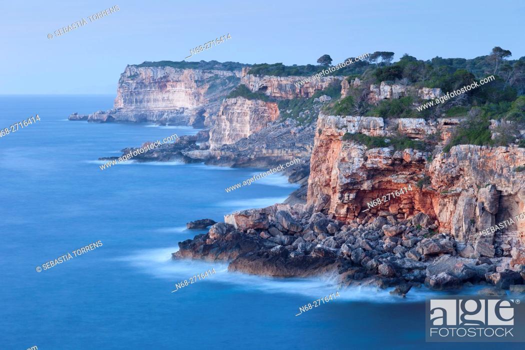 Stock Photo: Cala s'Almunia, Mallorca.