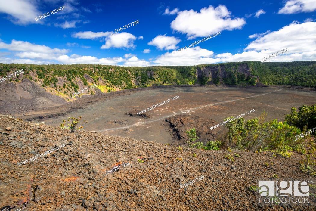 Imagen: Kilauea Iki crater, Hawaii Volcanoes National Park, Hawaii USA.
