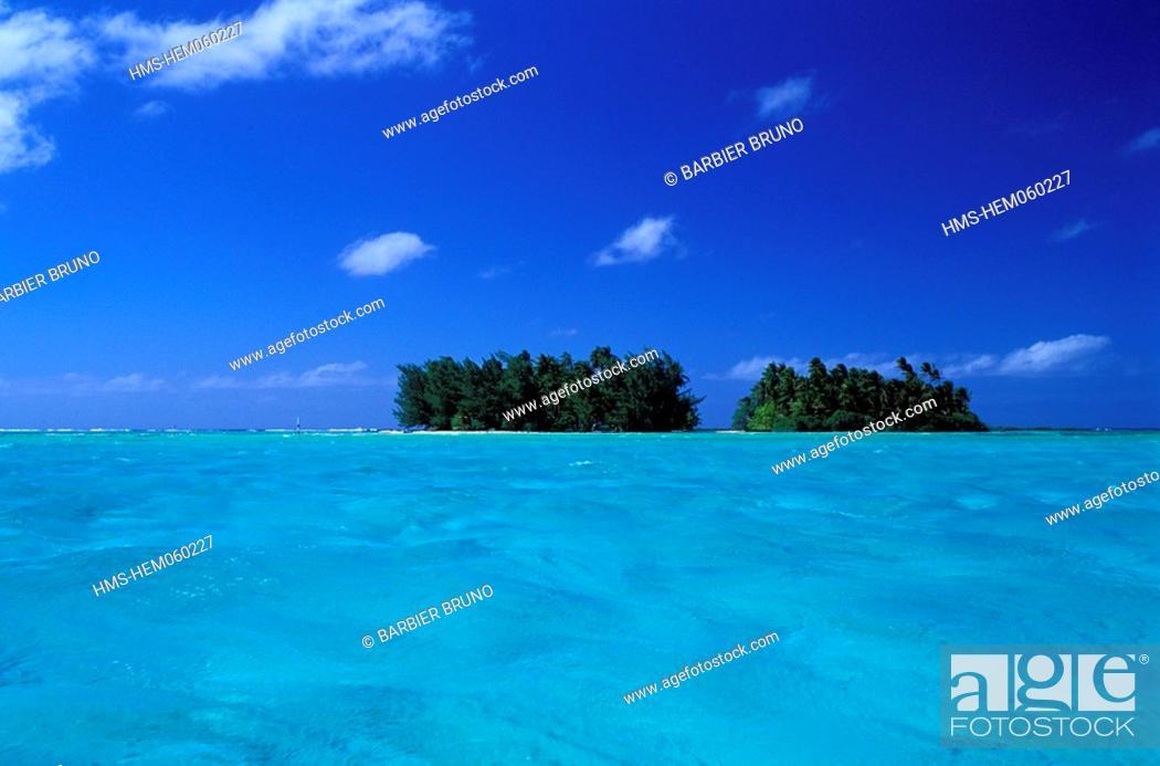France, French Polynesia, Tahaa island, Atara lagoon, Stock