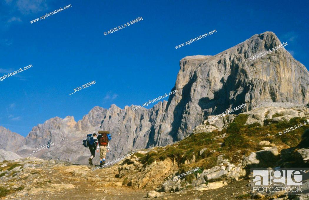 Stock Photo: Picos de Europa. Asturias. Spain.