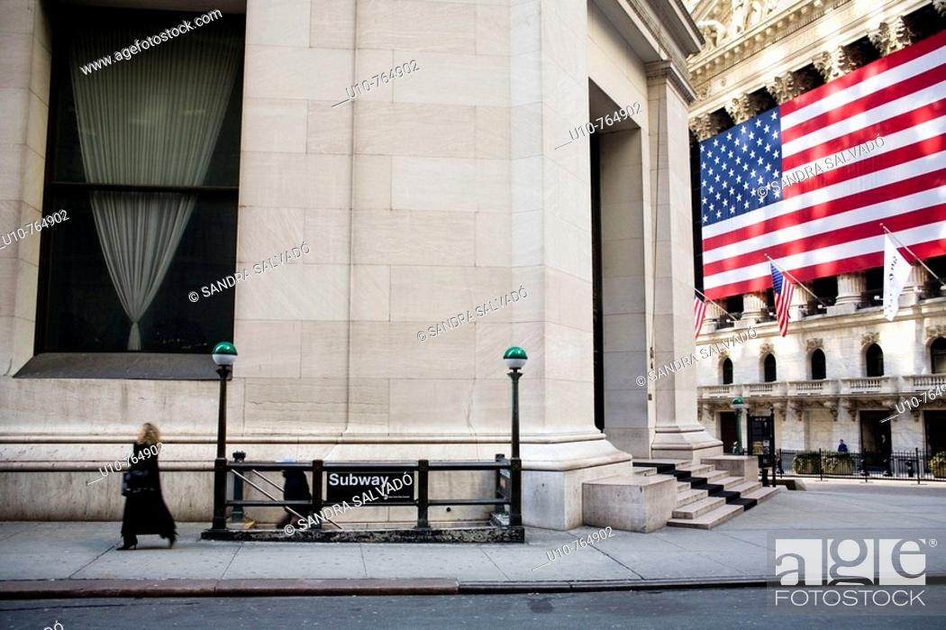 Stock Photo: New York, Wall Street.