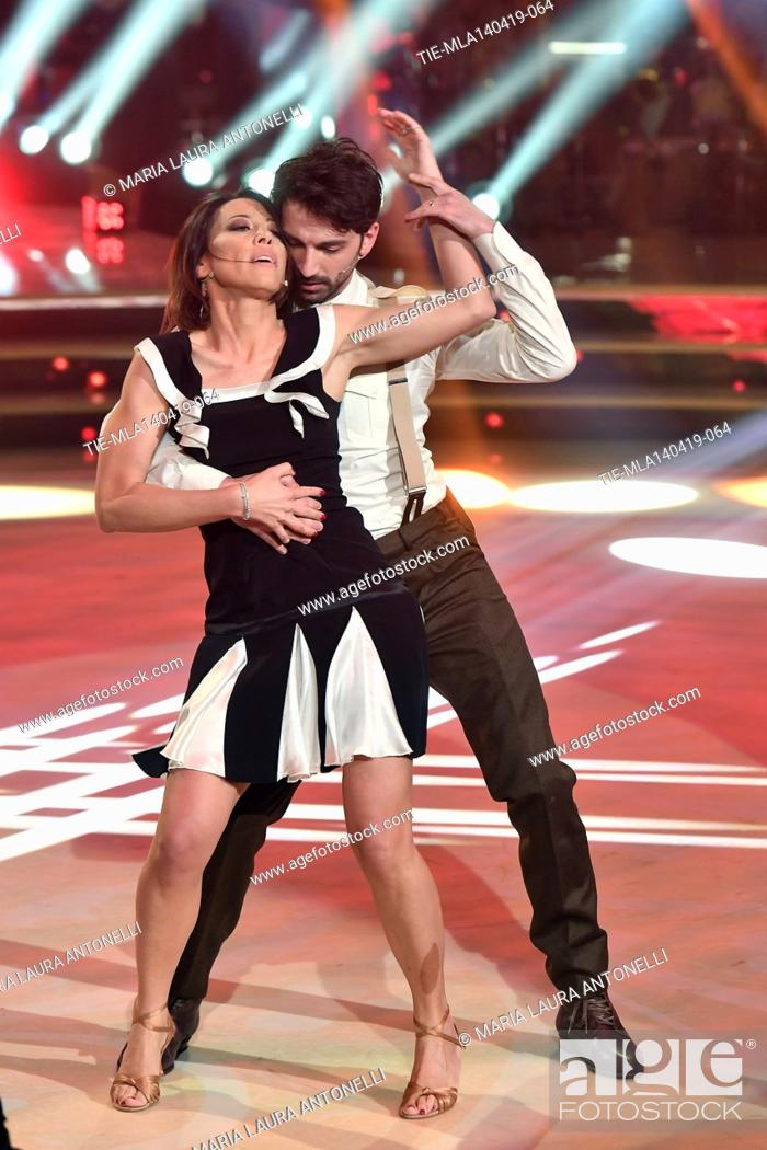Imagen: Nunzia De Girolamo during the performance at the talent show ' Ballando con le stelle ' (Dancing with the stars) Rome, ITALY-14-04-2019.