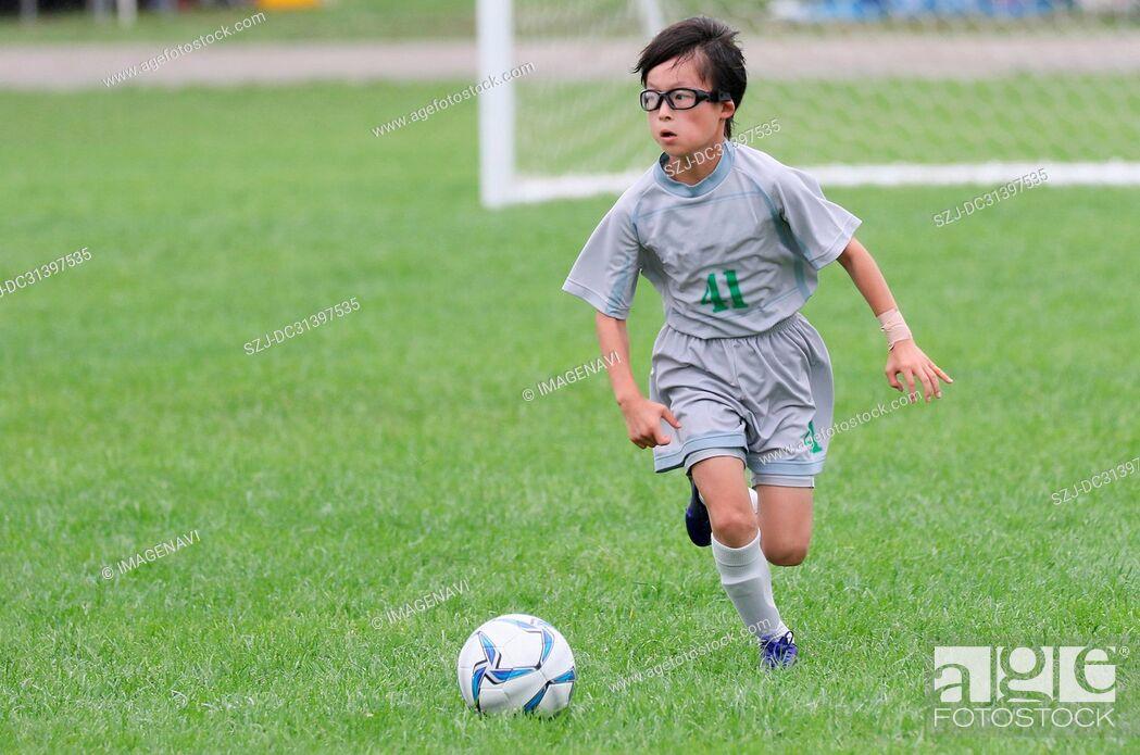 Stock Photo: Soccer.
