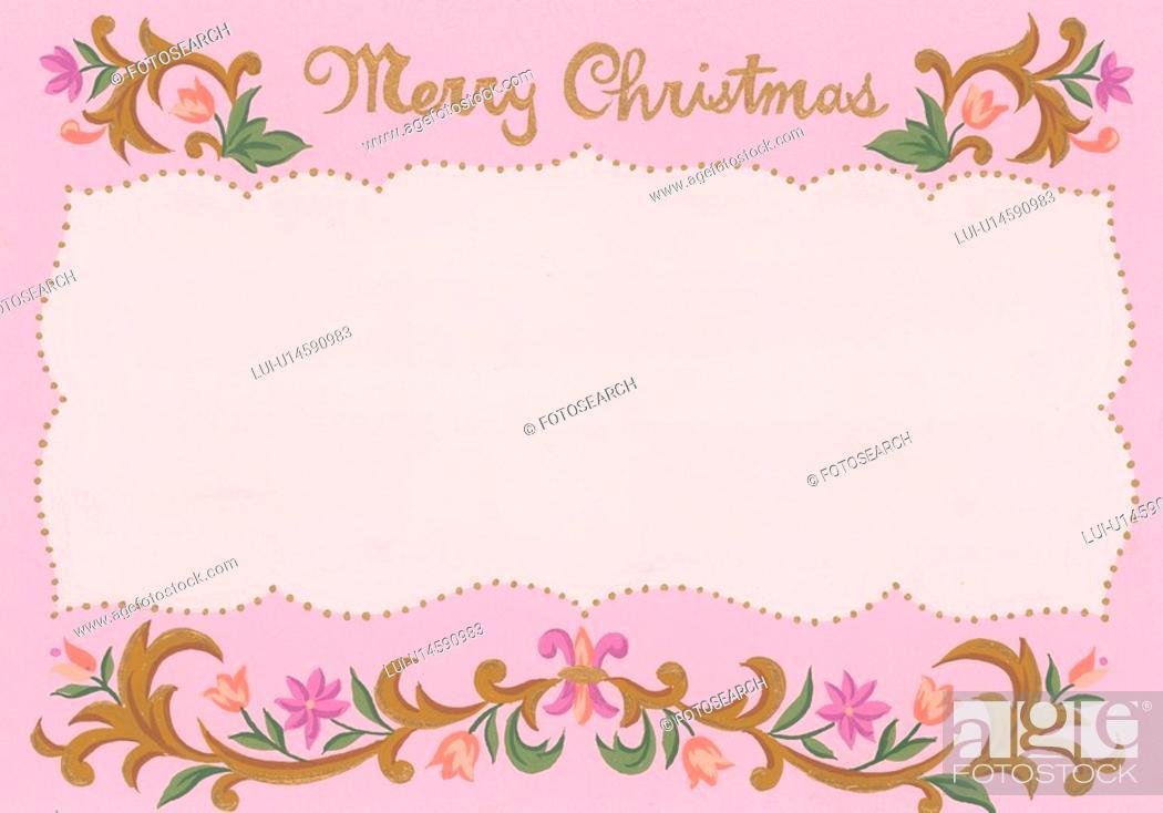 Stock Photo: Merry Christmas.