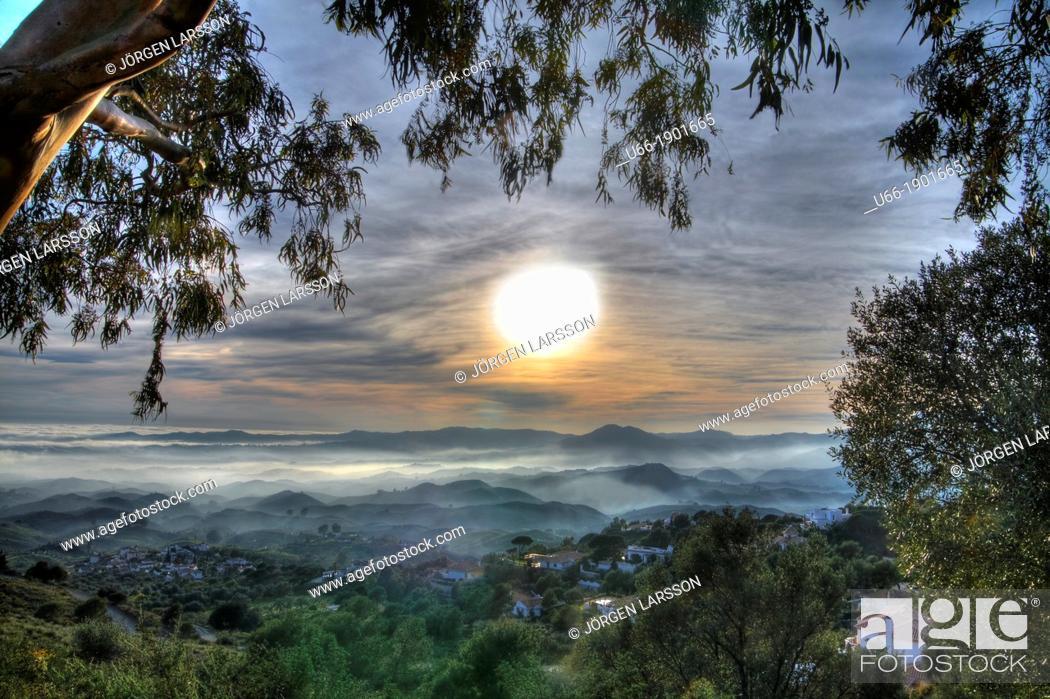 Stock Photo: Valtocado Andalucia Spain.