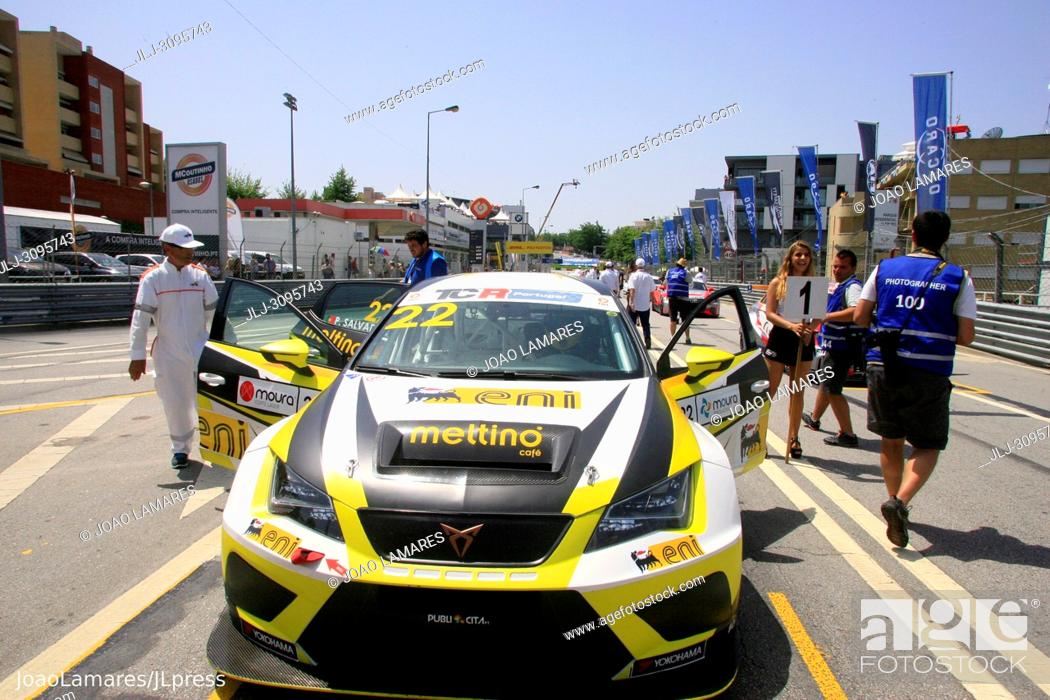 Stock Photo: Pedro Salvador, Cupra TCR #22, Vila Real, Portugal..