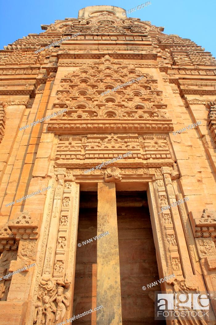 Stock Photo: Fort, Teli-ka Mandir temple 8th century, Gwalior, India.