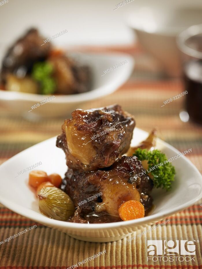 Stock Photo: cazuelita de rabo de toro / oxtail.