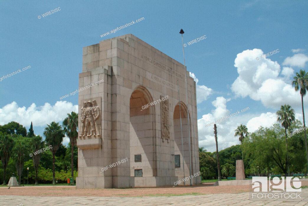 Stock Photo: Arch, Rio Grande do Sul, Brazil.