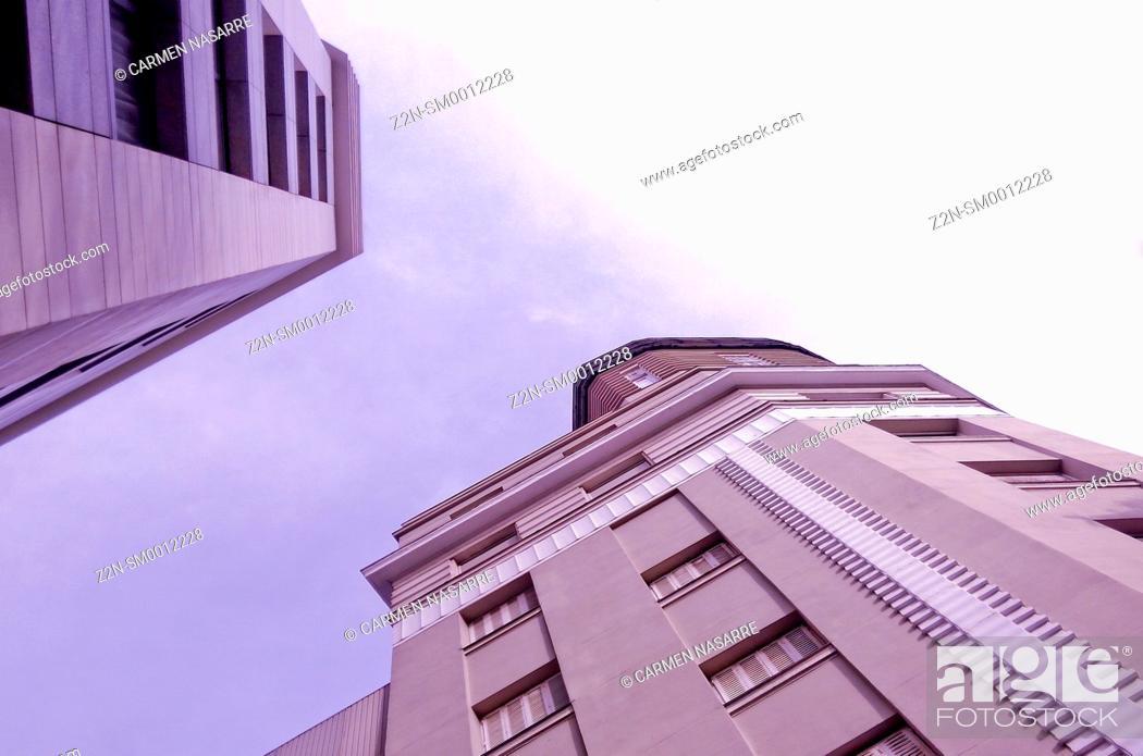 Stock Photo: Buildings.