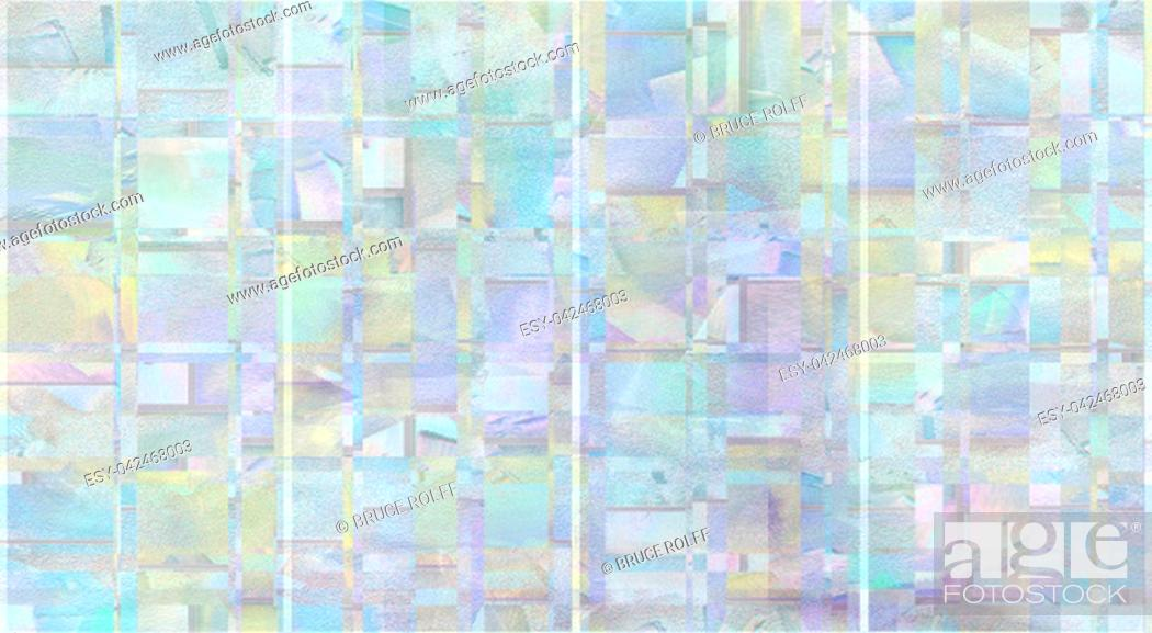 Stock Photo: Abstract painting in soft pastel colors.
