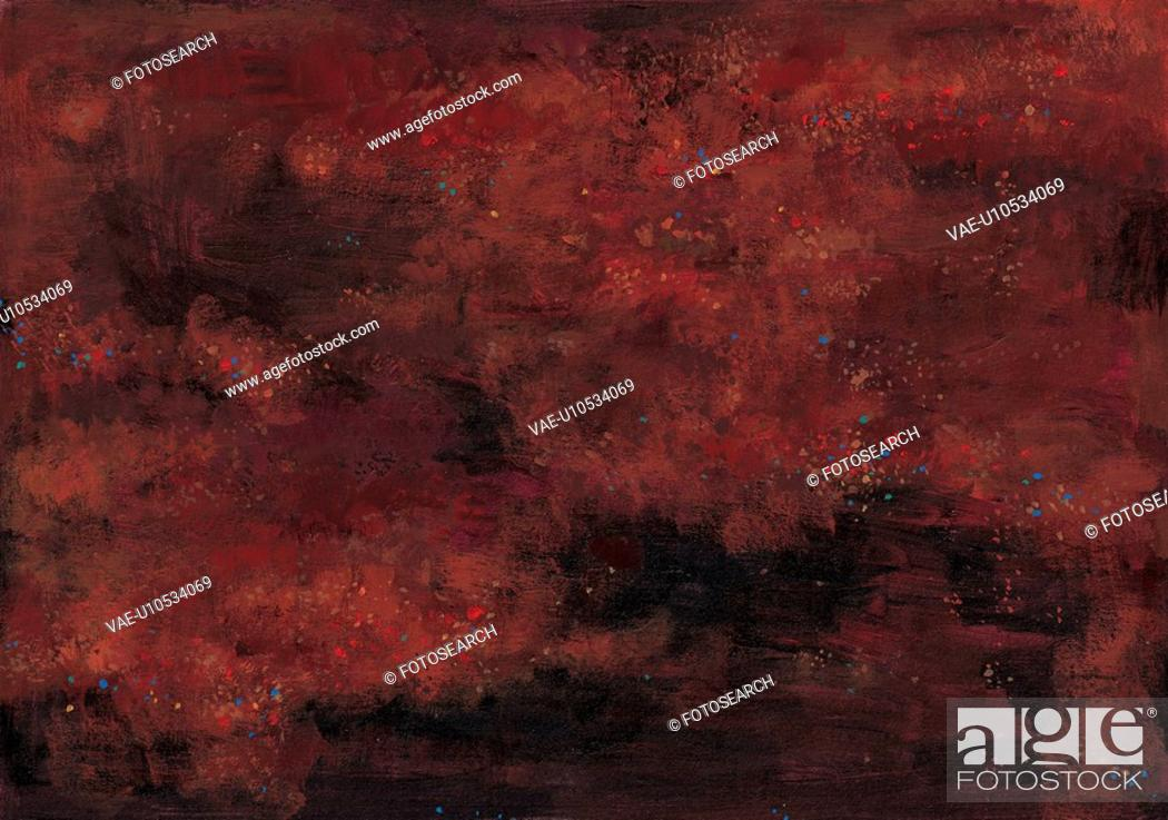 Stock Photo: korea culture, Orientalpainting, design, red, background, traditon, tradition.