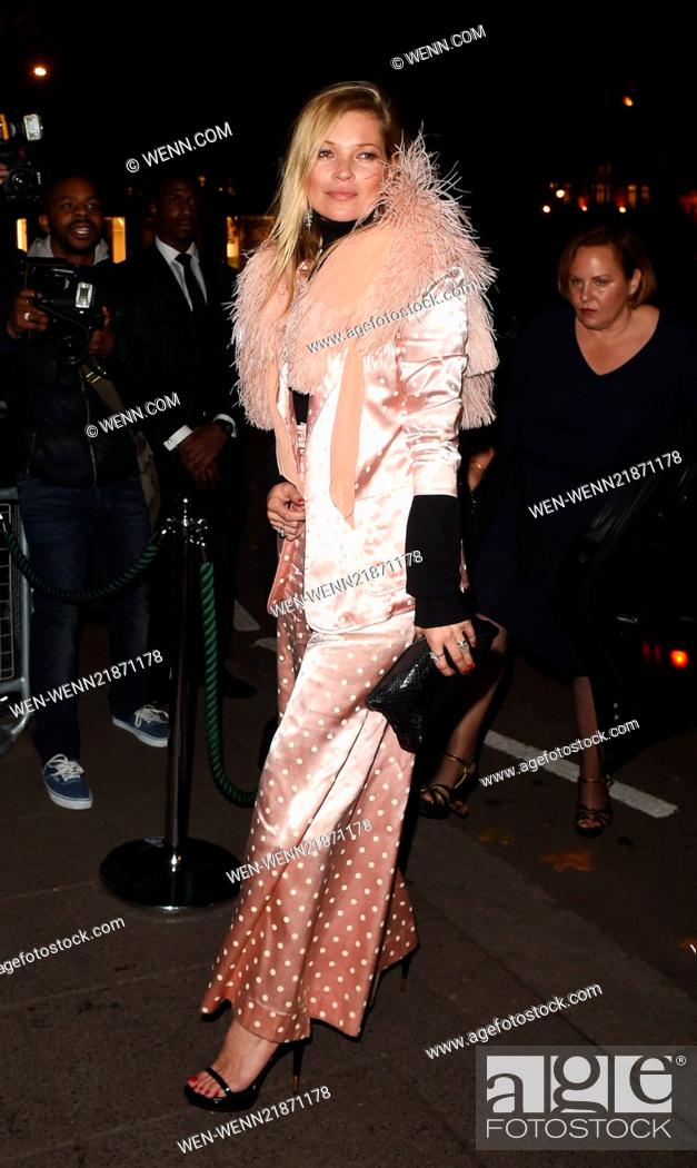 Kate Moss And Grace Jones Hold A Joint Party At Annabels Private