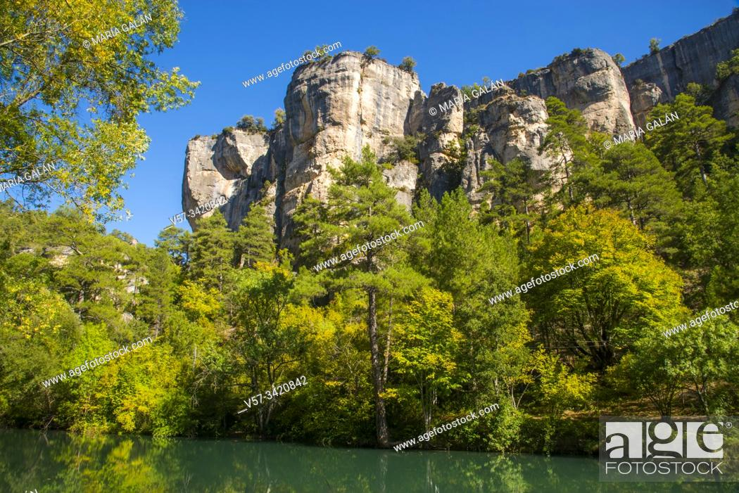 Imagen: Hoz de Beteta. Serrania de Cuenca Nature Reserve, Cuenca province, Castilla La Mancha, Spain.