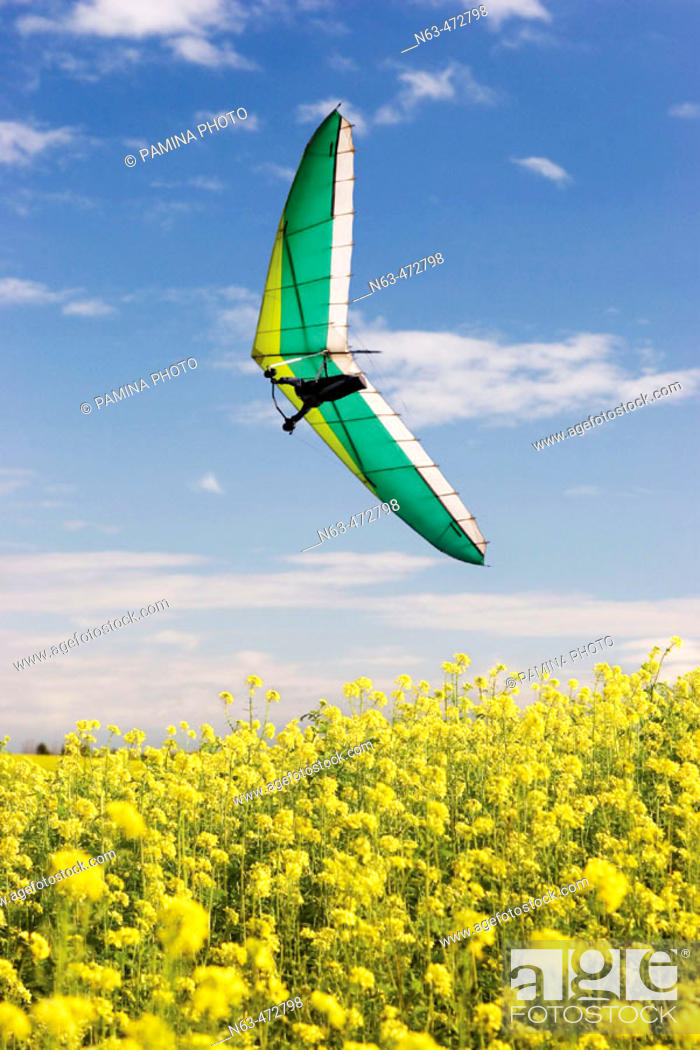 Stock Photo: Hangglider.