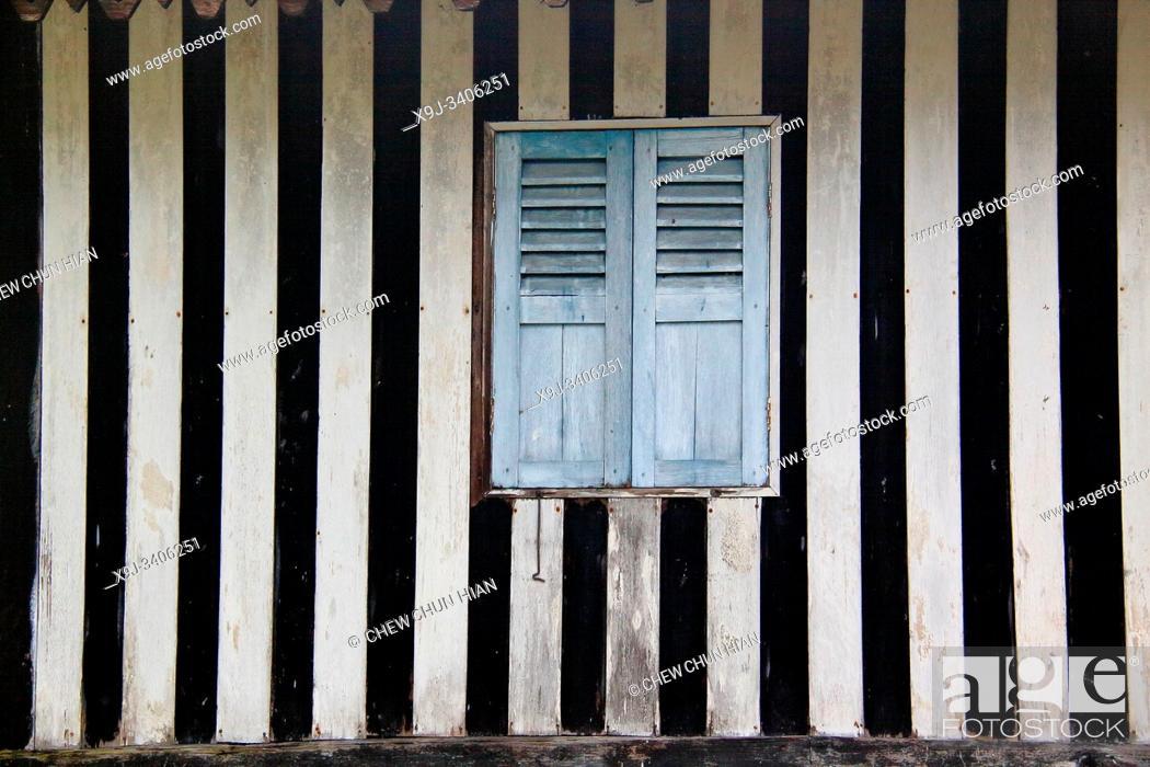 Stock Photo: Wooden Window ( House ).