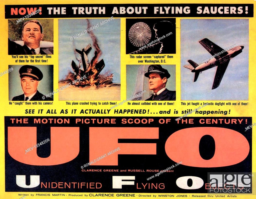 UNIDENTIFIED FLYING OBJECTS:THE TRUE STORY OF FLYING SAUCERS aka UFO