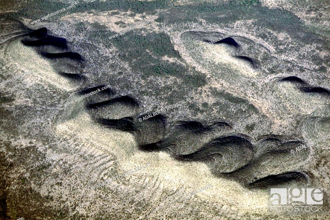 Stock Photo: Serranía del Burro mountains, Mexico.