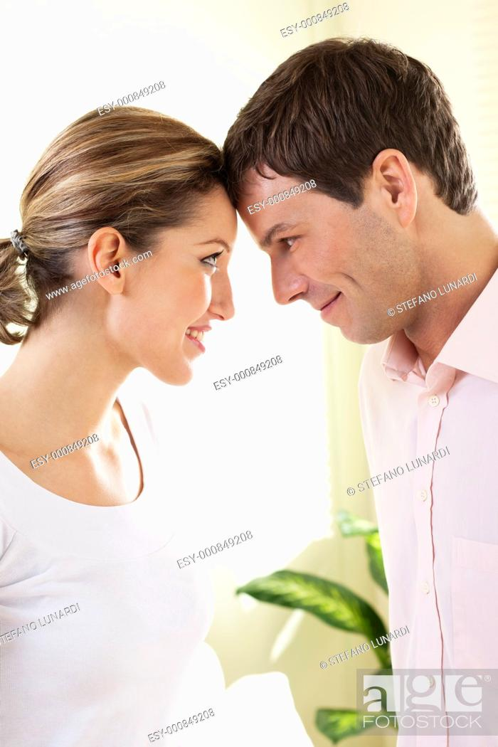 Stock Photo: Romantic couple.