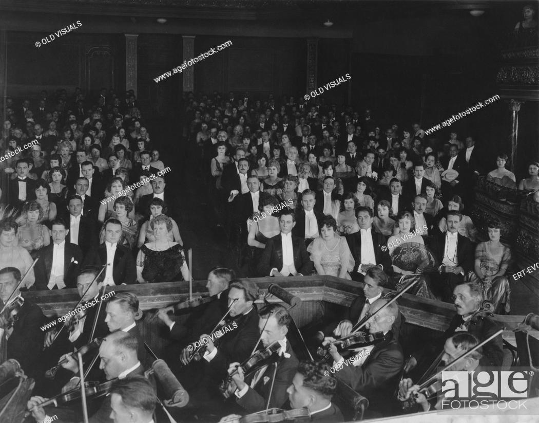 Stock Photo: Classical concert.