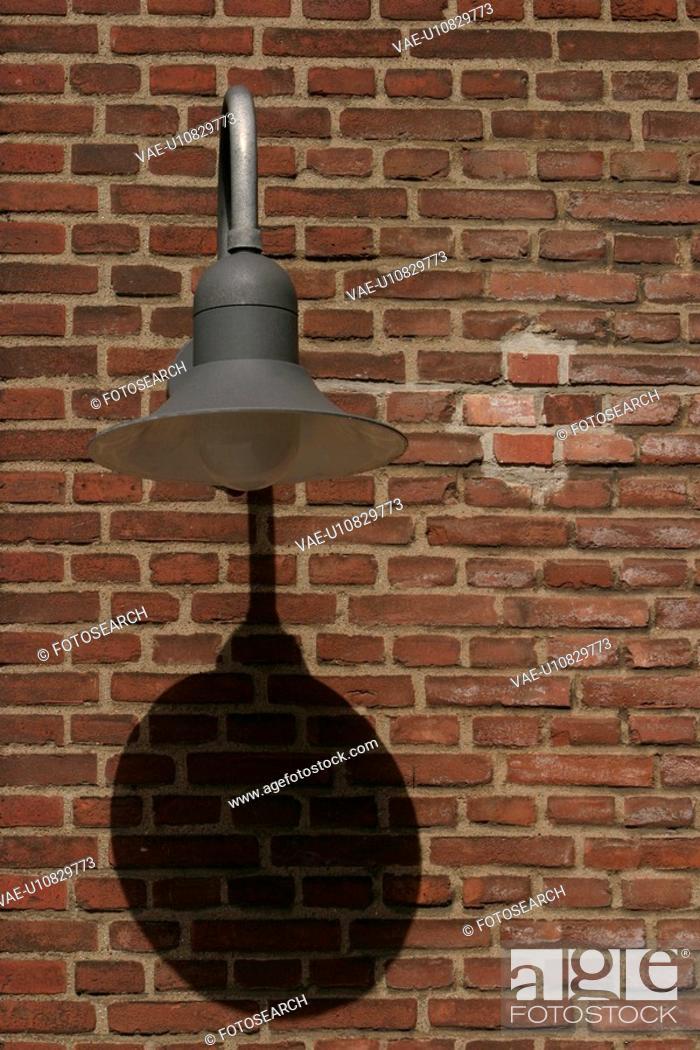 Stock Photo: streetlight, lantern, quaint, street lamp, lamp post, outdoors.