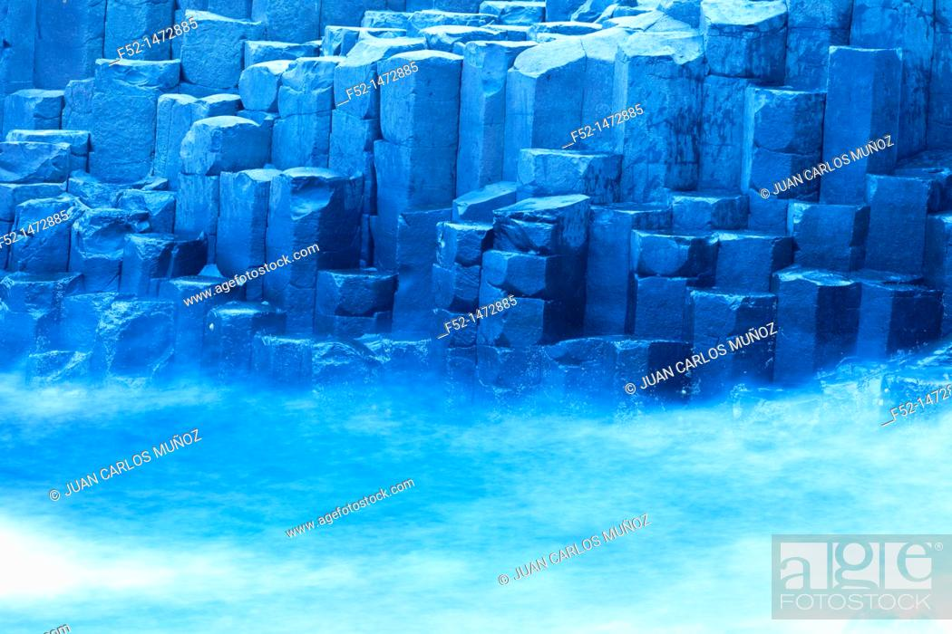 Photo de stock: The Giant's Causeway  World Heritage Site  Antrim County, Northern Ireland, Europe.