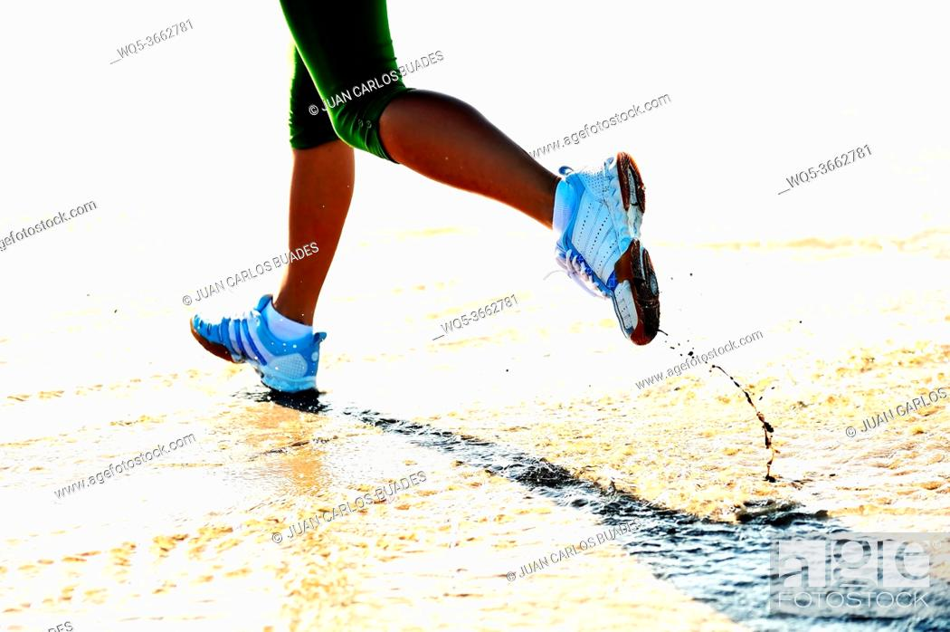 Photo de stock: sand sports.