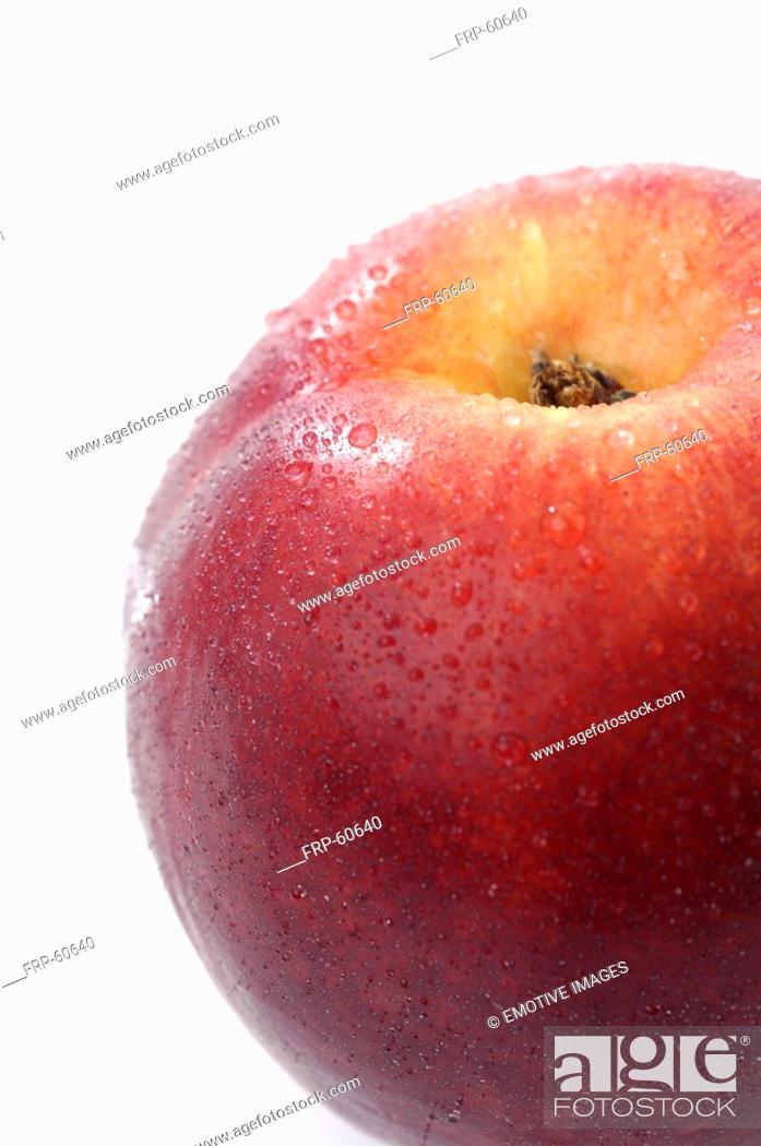 Stock Photo: Nectarine.