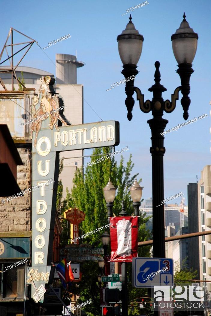Stock Photo: Portland, Oregon, United States.