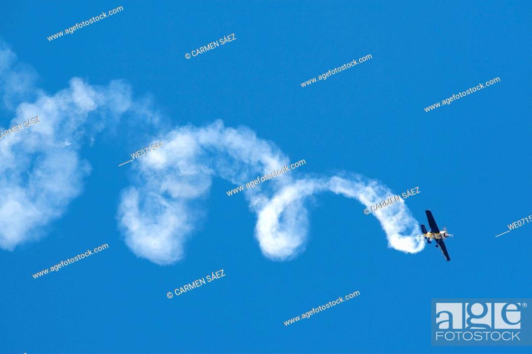 Stock Photo: Air show, Armilla. Granada province, Andalucia, Spain.