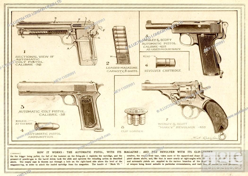Revolver Trigger Diagram - Schematics Online on