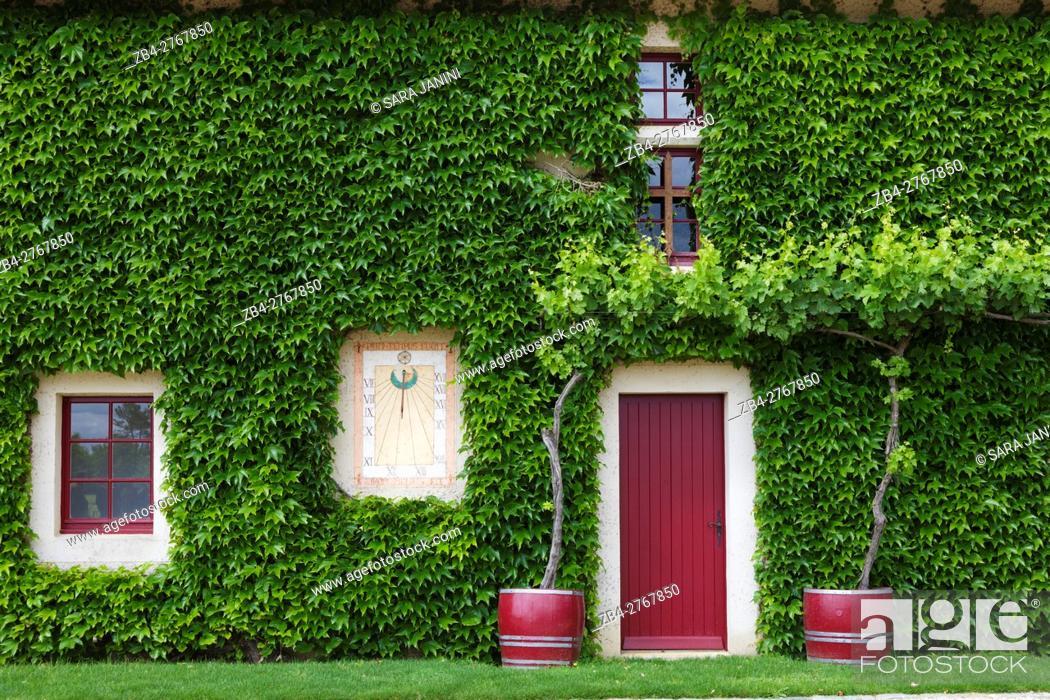 Stock Photo: Château Smith Haut Lafitte, Graves AOC, Bordeaux, Aquitaine, France.