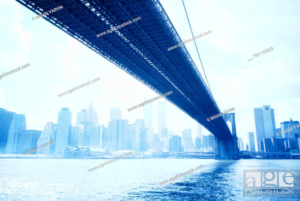 Stock Photo: Brooklyn Bridge. New York City. USA.