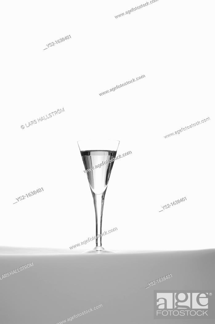 Stock Photo: Glass of Schnaps.