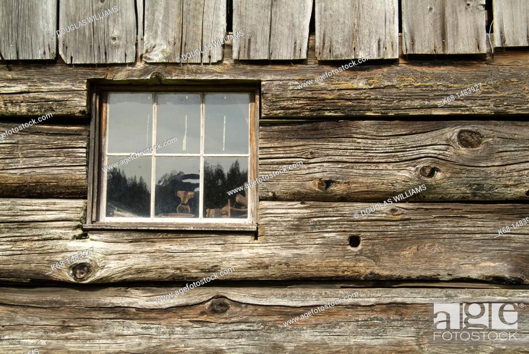 Stock Photo: Ruckle Farm on Salt Spring Island, BC, Canada.