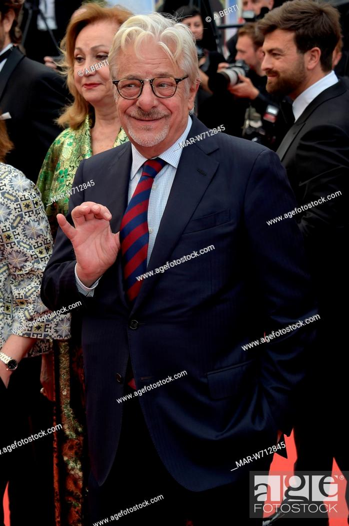 Stock Photo: Giancarlo Giannini Cannes, 23-05-2019 72nd Cannes Film Festival.