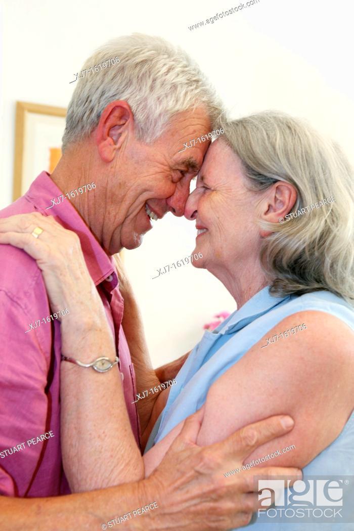 Stock Photo: Senior couple.
