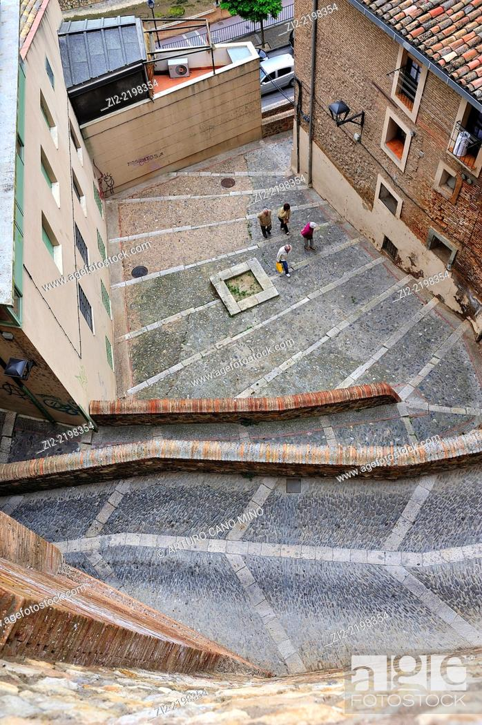 Stock Photo: Tarazona, Zaragoza province, Spain.