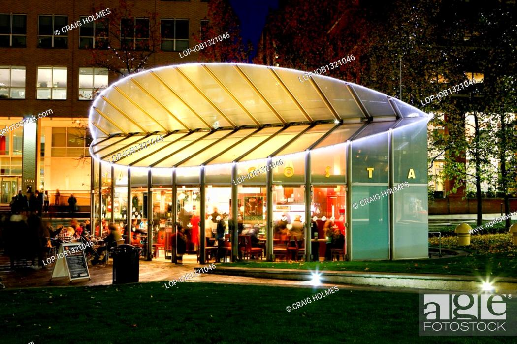 England West Midlands Birmingham Costa Coffee Shop In