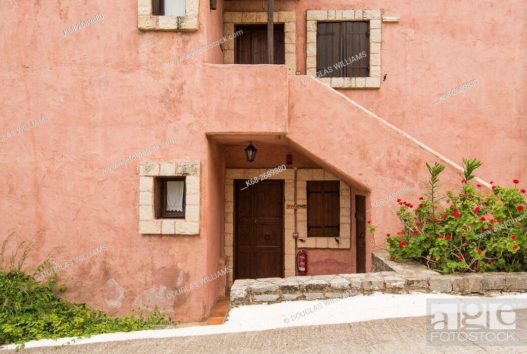 Imagen: Enagron Eco tourism village, Crete, Greece, Axos.