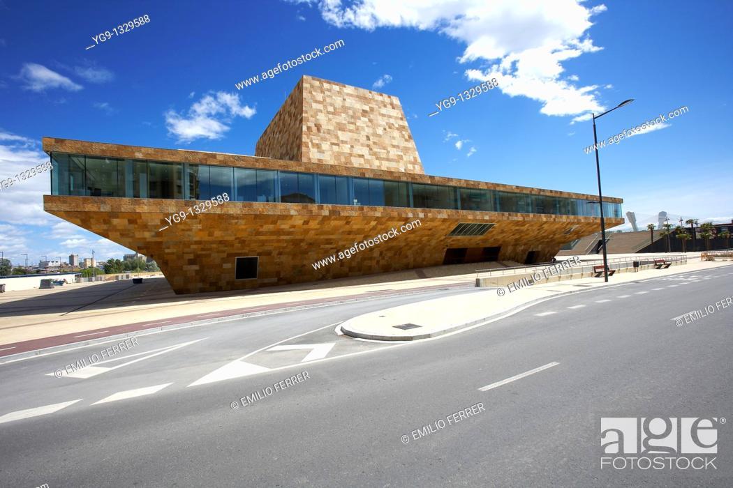 Stock Photo: La LLotja  Congress Theatre and Convention Centre  LLeida, Spain.