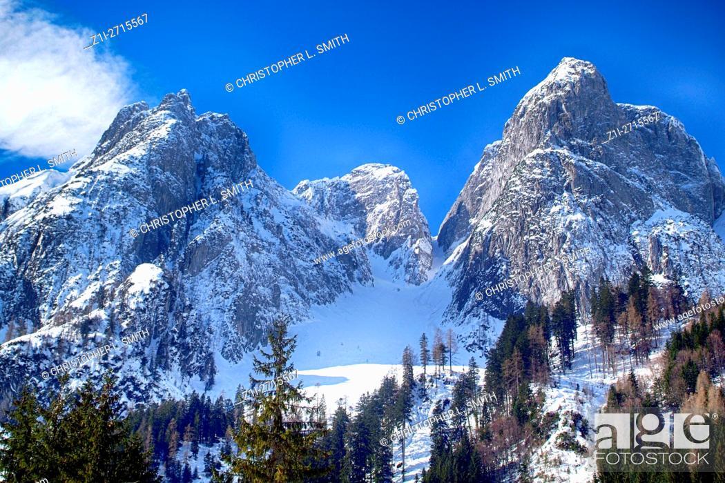 Imagen: The Austrian Alps in the Salzkammergut region.